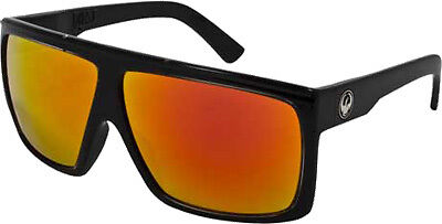 Dragon Alliance 720-1900 Fame Ionized Sunglasses Jet/Red Lens Red 224957506013