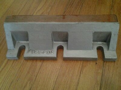 Antique Machine Age Industrial Wood Foundry Mold Pattern Steampunk