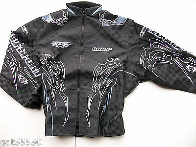 New Wulfsport Sz Xl Enduro Motocross Trials Jacket Exc Kx Cr Yz Rm Montesa Beta