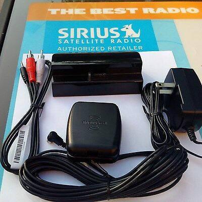 Sportster 4 Sirius Complete Home Docking Kit NEW!
