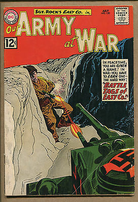 Our Army At War #120 - 1st Appearance Junior - 1962 (Grade 5.0) WH