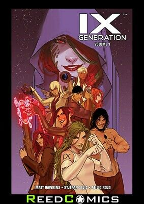 IXTH GENERATION VOLUME 1 GRAPHIC NOVEL New Paperback Collects Issues #1-4 + more