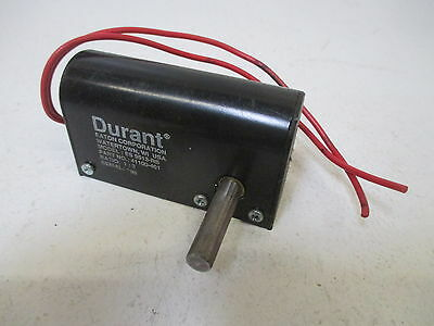 Durant 41100-401 Model Es 9513-Rs Lineal Contactor  *used*