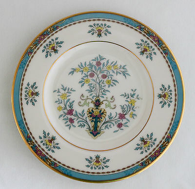 """LENOX BLUE TREE Gold Trim BREAD & BUTTER PLATE 6 3/8"""" Gold Mark - Discontinued"""