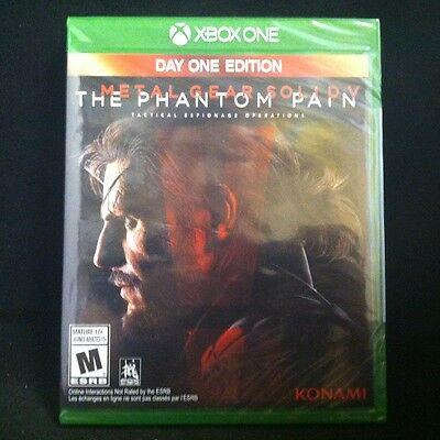 Metal Gear Solid V: The Phantom Pain -- Day One Edition (Microsoft Xbox One)