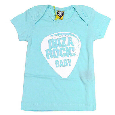 OFFICIAL Ibiza Rocks Baby Grow Romper BLACK Plectrum Logo 2016 12-18 months