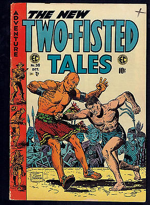 1954 EC Two Fisted Tales #39 VG to FN