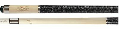 2016 - Cuetec R-360 13-692 Edge Series Cue  Natural with Linen Wrap & Joint Caps