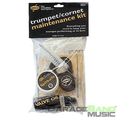 Herco Trumpet/Cornet Maintenance Cleaning Kit, HE81