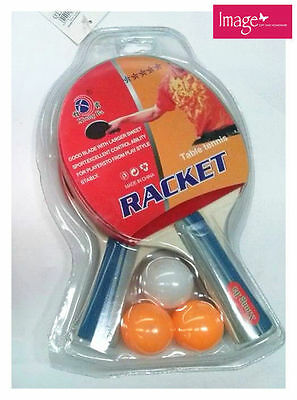 2 Players Table Tennis Set with Net | Posts Clamp | 3 Balls | 2 Rackets HT719