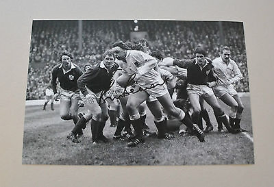 Bill Beaumont Signed 12x8 Photo England Rugby Union Autograph Memorabilia + COA