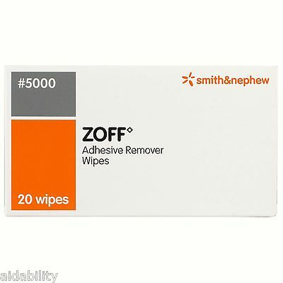 Zoff Plaster Adhesive Remover Wipes
