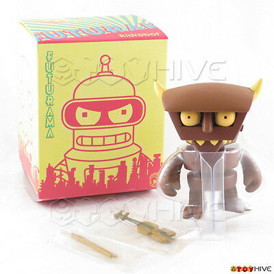 Kidrobot Futurama collection Robot Devil series 1 rare chase 1/96 3-inch figure