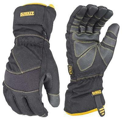 Dewalt DPG750 Extreme Condition 100G Insulated Cold Weather Work Gloves M-2XL