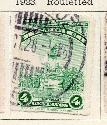 Mexico 1923 Early Issue Fine Used 4c. 170538