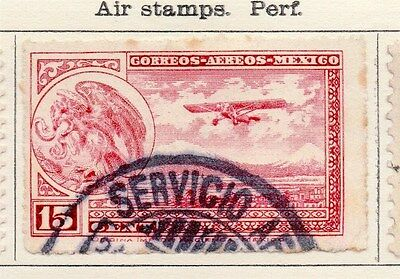 Mexico 1929 Early Air Stamps Issue Fine Used 15c. 170568