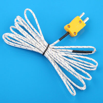 1pc  K Type Thermocouple Probe Temperature Sensor For Digital Thermometer