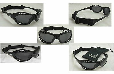 Wraparound Sport Sunglasses Polarized UVA / B lenses