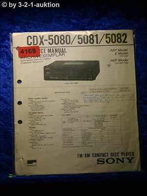 SONY SERVICE Manual CDX S2200 CD Player (#4277) - EUR 16,00 ...