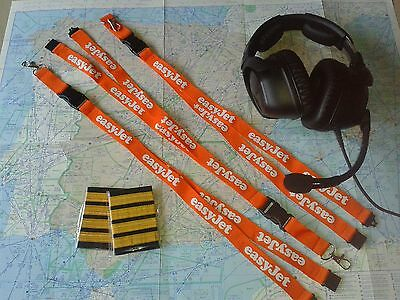 Easyjet airline ID lanyard UK low cost