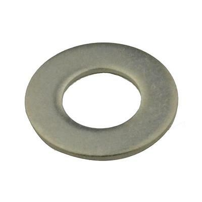 Qty 100 Flat Washer M10 (10mm) x 21mm x 1.2mm Metric Stainless Steel SS 304 A2