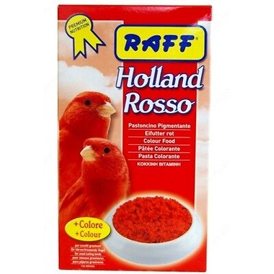 RED COLOR FOOD BEST FOR COLOR PARAKEETS COCKATIELS CANARY 500 grams ( 18 oz )