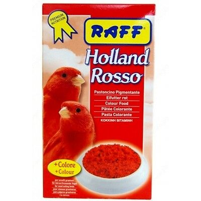 RED COLOR FOOD BEST FOR COLOR PARAKEETS COCKATIELS CANARY 300g
