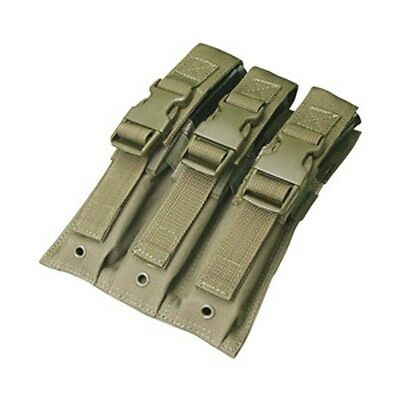 Condor Tactical Triple MP5 Molle Magazine Mag Pouch Olive MA37-001