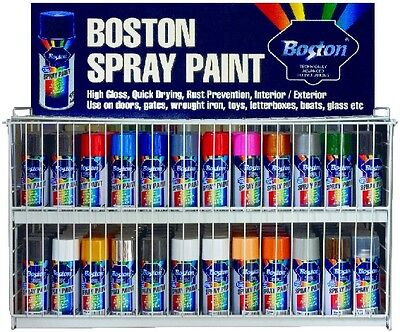 Quality Spray Paint Can 250G Boston Quick Drying Rust Prevention Multiple Colour
