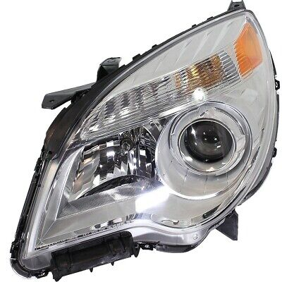 Headlight For 2010-2015 Chevrolet Equinox Left Projector Type With Bulb