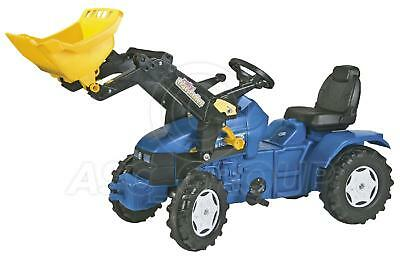 Rolly Toys -  NEW HOLLAND TD 5050 Ride on Pedal Tractor with Trac Loader Age 3-8