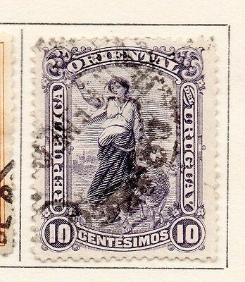 Uruguay 1900-09 Early Issue Fine Used 10c. 170292