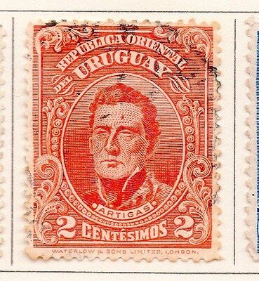 Uruguay 1910 Early Issue Fine Used 2c. 170326