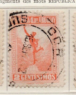 Uruguay 1923 Early Issue Fine Used 2c. 170394