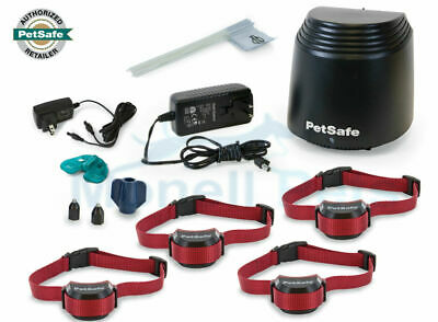 PetSafe Stay+Play Rechargeable Wireless Stubborn 4 Dog Fence System PIF00-12917