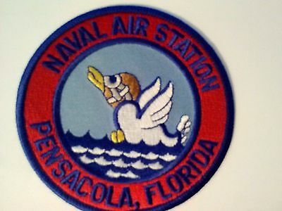 U. S. Navy Naval Air Station Pensacola Florida Sew On  3""