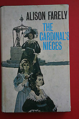 *RARE 1st EDITION* THE CARDINAL'S NIECES by Alison Farely (Hardcover/DJ, 1976)