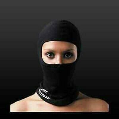 Oxford Coolmax Motorcycle Balaclava Face Mask Motorbike Rider One Size
