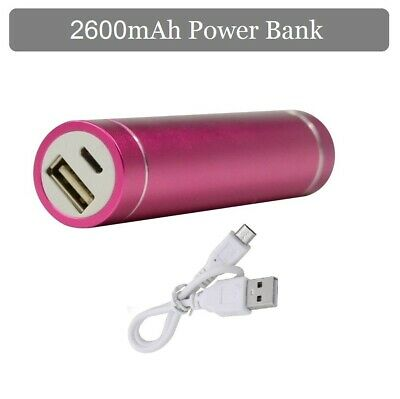 2600mAh Portable USB Power Bank Charger External Battery For iPhone Mobile Phone