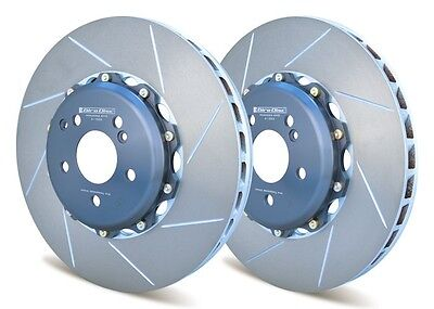 Giro Disc 2-Piece 360Mm Front Rotors For Mercedes Clk63 Amg Black Better Than Oe