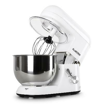 Deluxe Pro Electric Food Stand Mixer Table Top Bowl Guard 5L 1200W New 6 Speed
