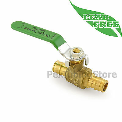 "1/2"" ProPEX (Expansion) Lead-Free Brass Ball Valve for PEX-A (F1960), Full Port"