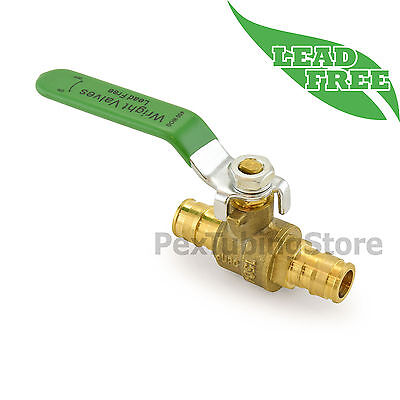 "(10) 1/2"" ProPEX Style (Expansion) Lead-Free Brass Ball Valves for PEX-A (F1960)"