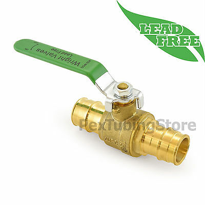 "1"" ProPEX Lead-Free Brass Shut-Off Ball Valve, Full Port, 400psi WOG"