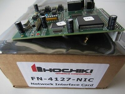 Hochiki FN-4127-NIC Network Interface Card FIRENET & FIRENET PLUS NEW