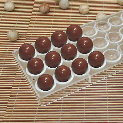 Semi Sphere Chocolate Mould PC Polycarbonate Chocolate Mold