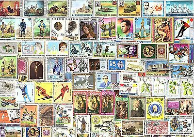 1000 All Different AFRICA  STAMPS