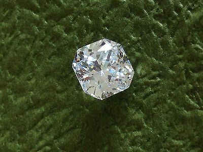 4 Carat Russian Sim Diamond CUSHION CUT White 9 mm x 9 mm WHITE
