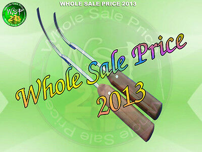 Wire Passer Guide orthopedic Veterinary surgery with fiber handle 45mm & 70mm