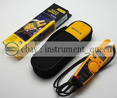 FLUKE T5-1000 1000 Voltage Current Electrical Tester +Soft case KCH16